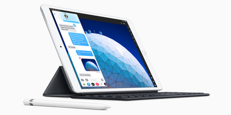 Two iPad models registered with the EEC