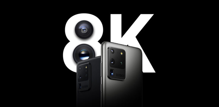 Shooting 8K Video on a Galaxy S20 Will Consume a Ton of Storage Per Minute - Here's How Much You'll Have to Spare