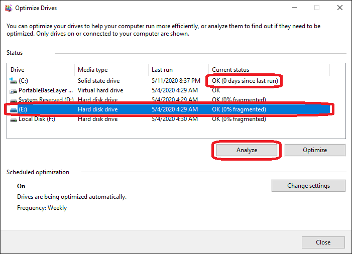 How to Optimize Hard Drive on Windows 10